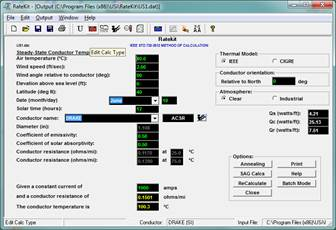 RATEKIT™ THERMAL RATING TOOLKIT SOFTWARE - USi